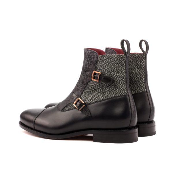 Octavian double Buckle Boot PISA rear