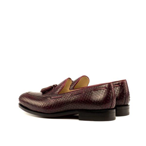 Python Tassel Loafers SLITHER rear