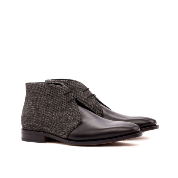 two tone Chukka Boots PARKER grey black