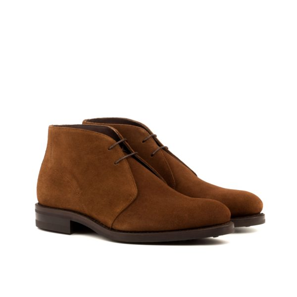 brown suede ankle boots ANDREW chukka boot