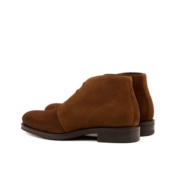 Chukka Boots brown suede ANDREW rear