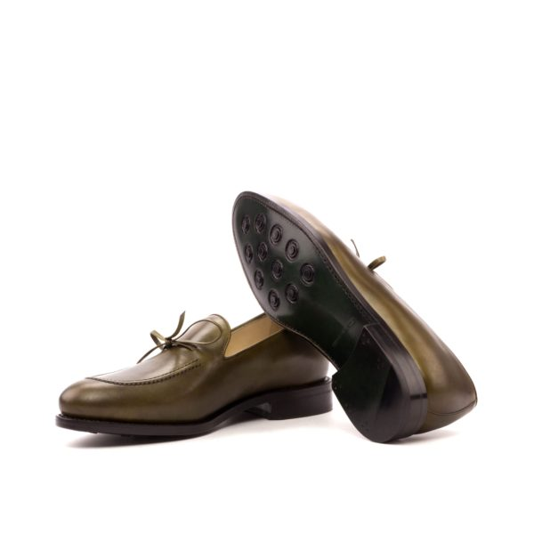 olive Loafers BENSON goodyear soles