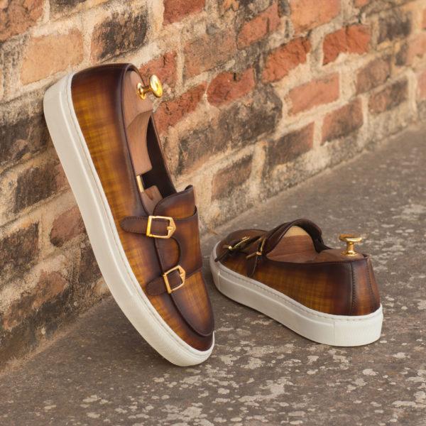 Belgian Monk Strap Sneakers GIZMO insitu