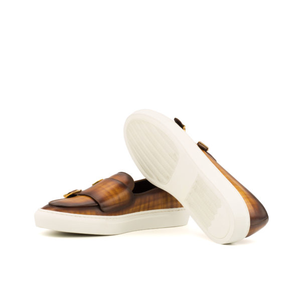 white rubber soles on casual Monk Sneakers GIZMO
