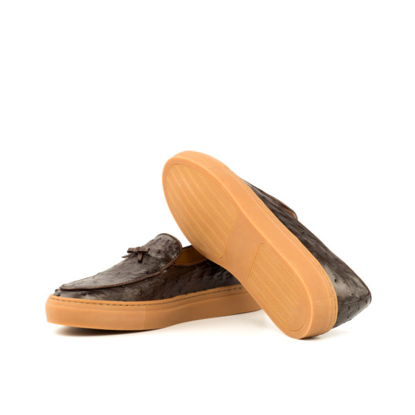 caramel rubber soles on ostrich Sneakers HORACE