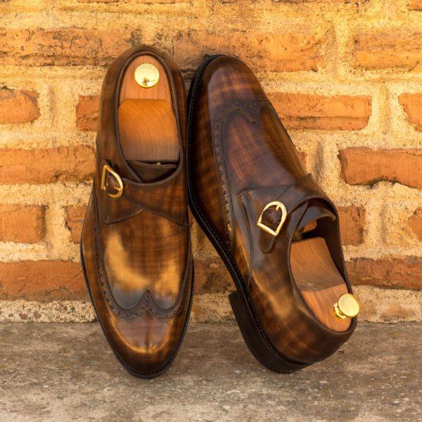 Brown Single Monk Shoes POTTER insitu