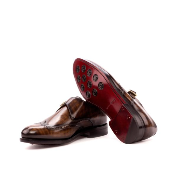 Single Monk POTTER goodyear leather rubber soles