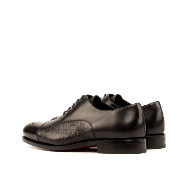 black Oxford shoes STEERFORTH rear