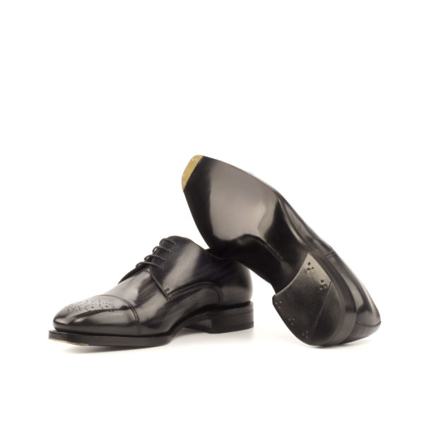 Derby BILL special bevelled waist soles with toe taps