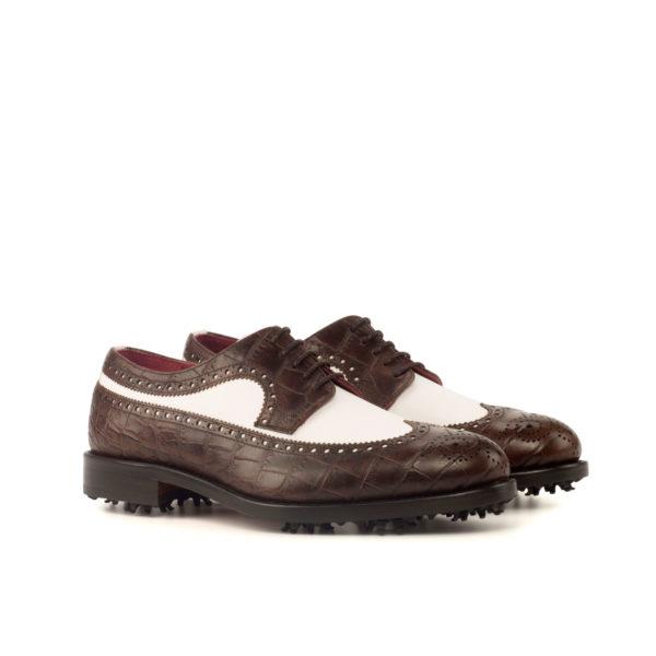 two tone Longwing Blucher Golf shoes CRENSHAW
