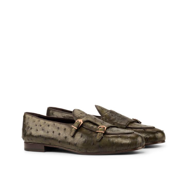 Ostrich Monk Slippers DEXTER