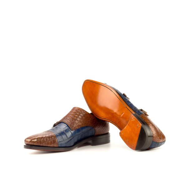 Double Monk ROYALE goodyear leather soles