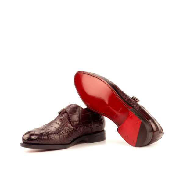 Single Monk ROWLAND goodyear welted leather soles