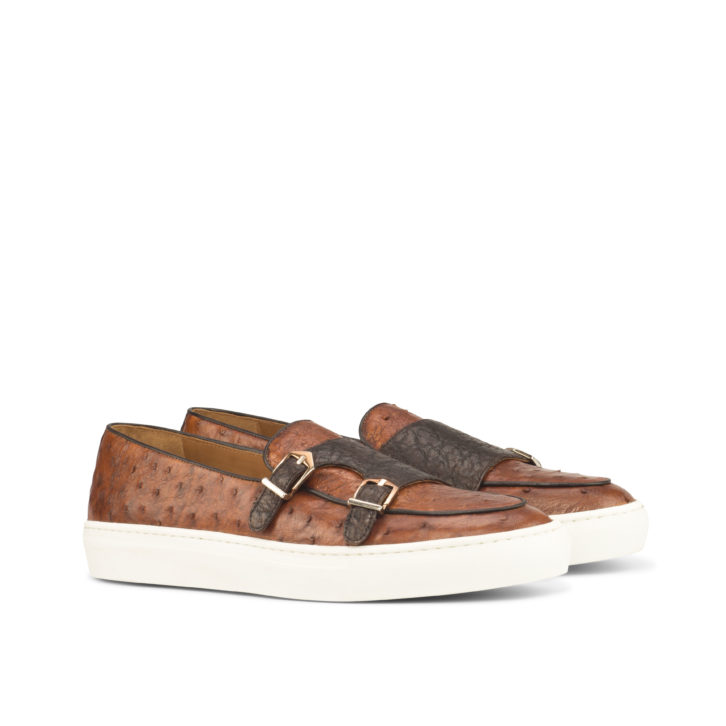 Ostrich Monk Sneakers SAWYERS