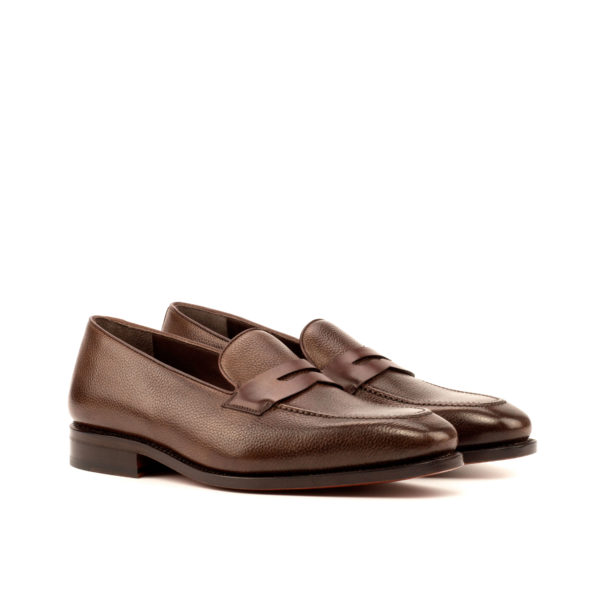 dark brown slip on Loafer shoes ZINFANDEL