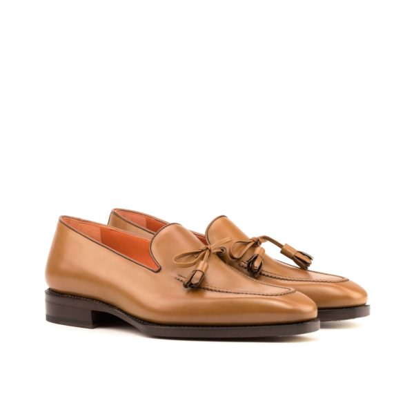 bevelled waist goodyear leather sole Loafers ADELPHI