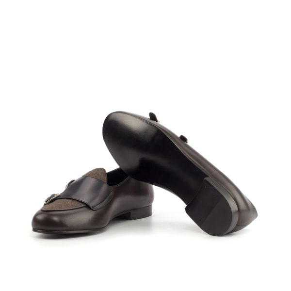 fine leather soles on our Monk Slippers ANCART design