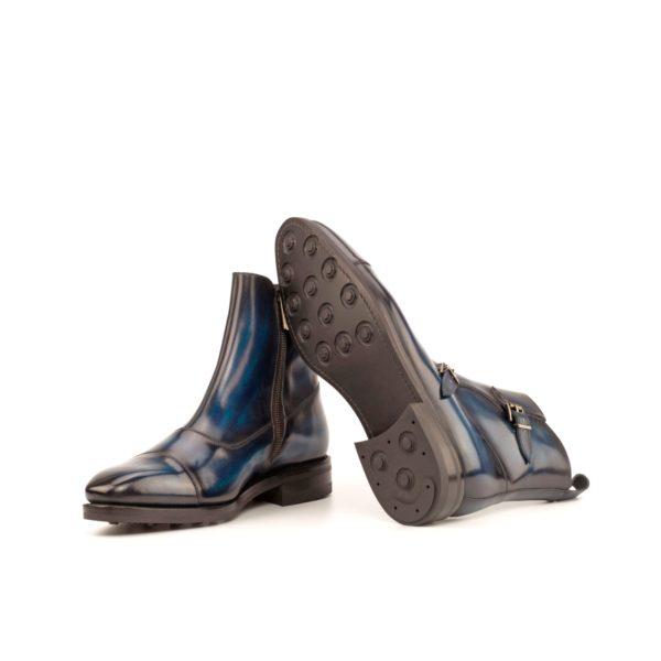 Octavian Buckle Boot BARI goodyear welt rubber soles