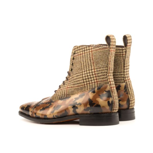 camouflage Balmoral Boots MARCO rear