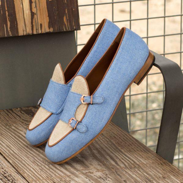 linen buckled Slippers MELLERY insitu