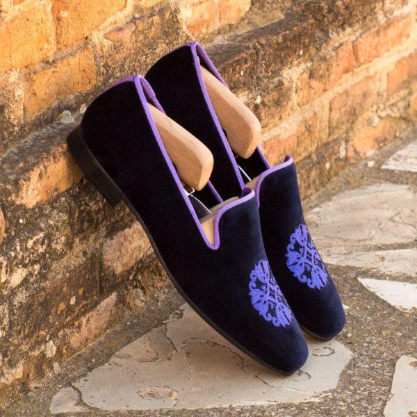embroidered velvet Slippers PLUSH insitu