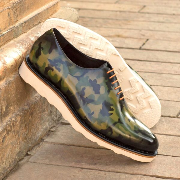 order or customise this stunning smart casual WholeCut CAMO shoe