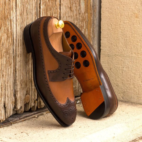 brown and tan Blucher Shoes CARLITO