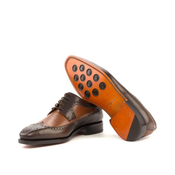 two tone Blucher Shoes goodyear welted CARLITO
