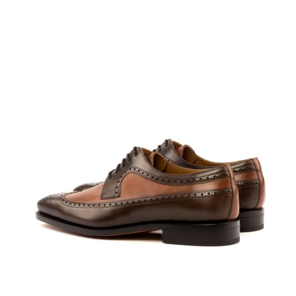 rear two tone leather Blucher brogues CARLITO
