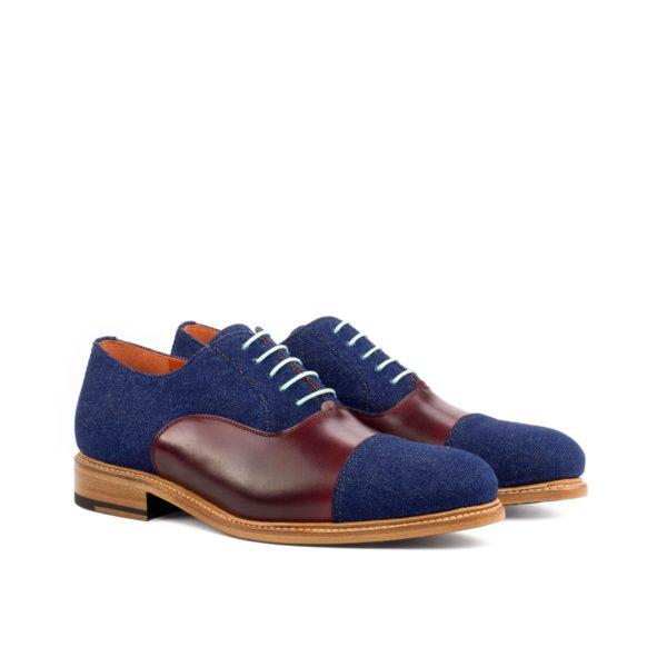 denim contrast Oxford Shoes DODGER by Civardi