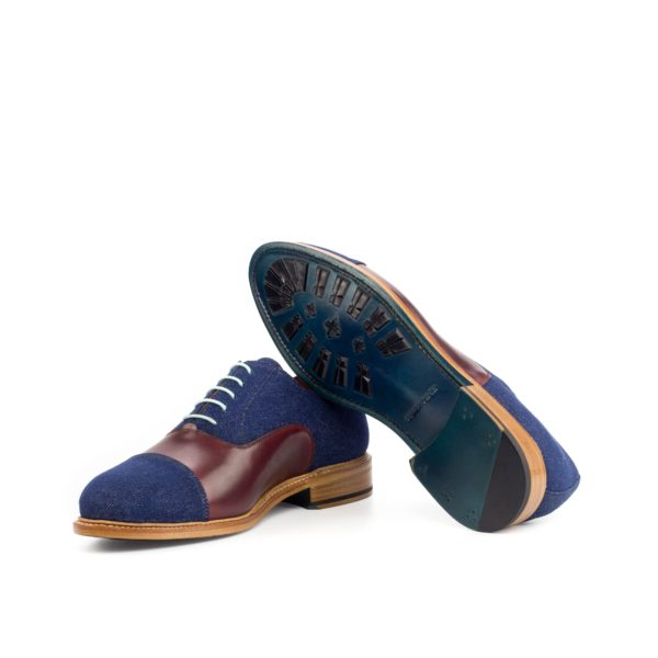 turqoise goodyear welted soles Oxford Shoes DODGER