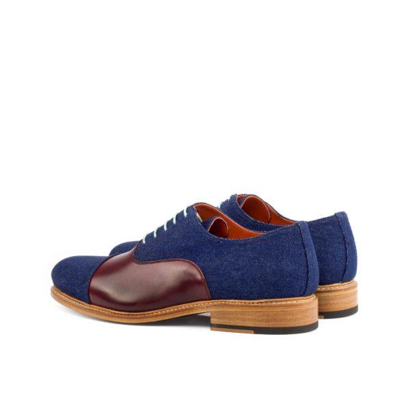 rear contrast denim Oxford Shoes DODGER