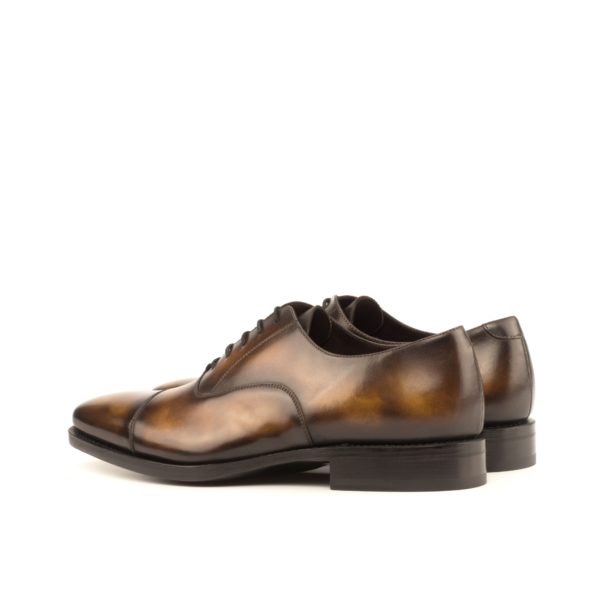 rear view of luxury Patina Oxford Shoes FIDDLER