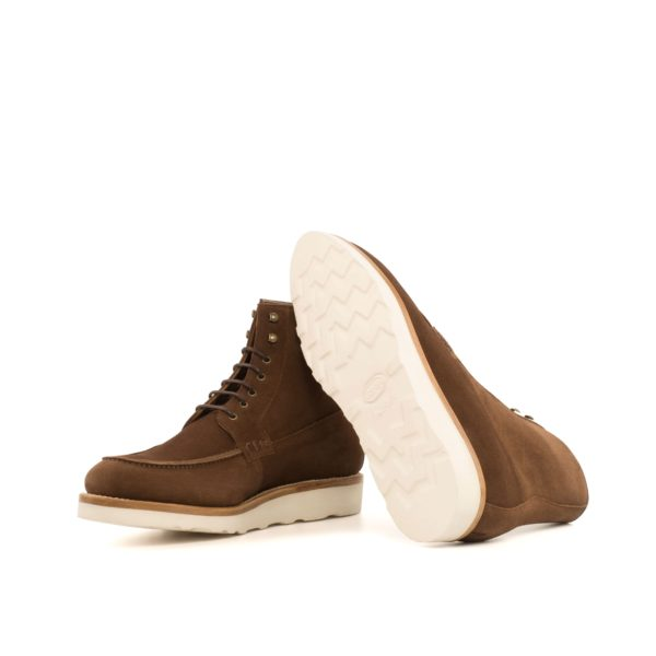 vibram rubber wedge soles on Moc-Toe Boots FOREMAN