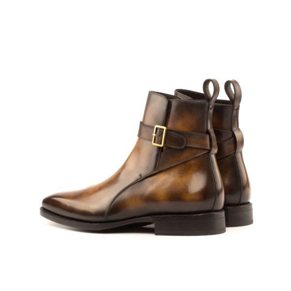 rear view luxury leather Jodhpur Boots RUDYARD