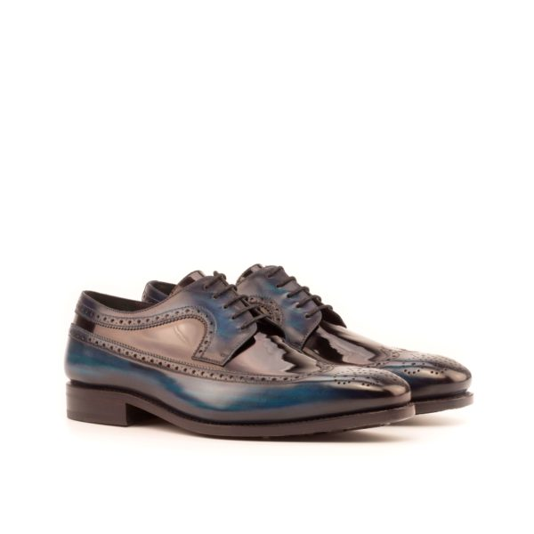 Patina Longwing Blucher fancy evening Shoes NOCTO