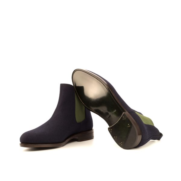 green goodyear welted leather soles Chelsea Boots OLE