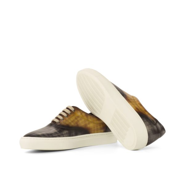 white rubber cup soles Patina TopSider Trainers ALVA