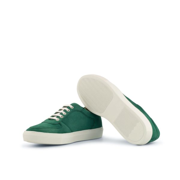 white rubber soles on customizable Low-Top Trainers BOBBY