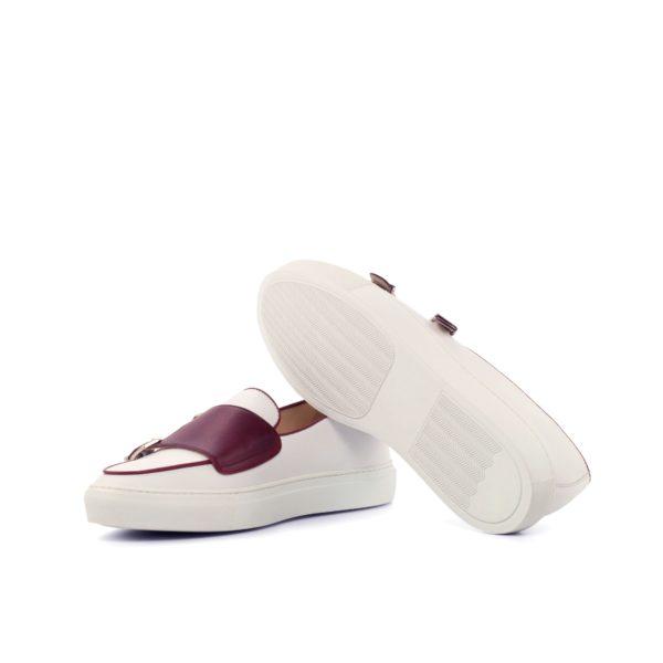 white rubber soles Monk Sneakers BRUEGEL