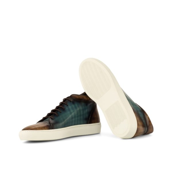 white rubber cup soles on fashion Patina Hi-Tops COURT
