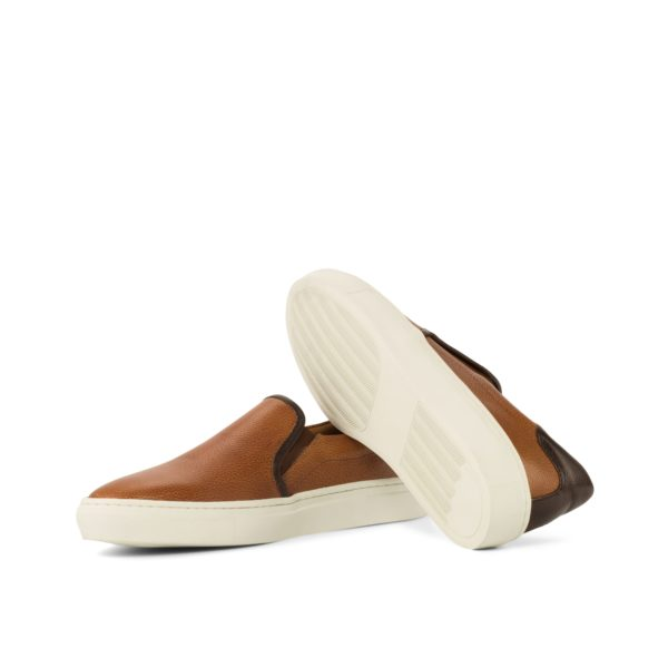 contrasting white rubber cup soles Slip-On Sneakers FINN