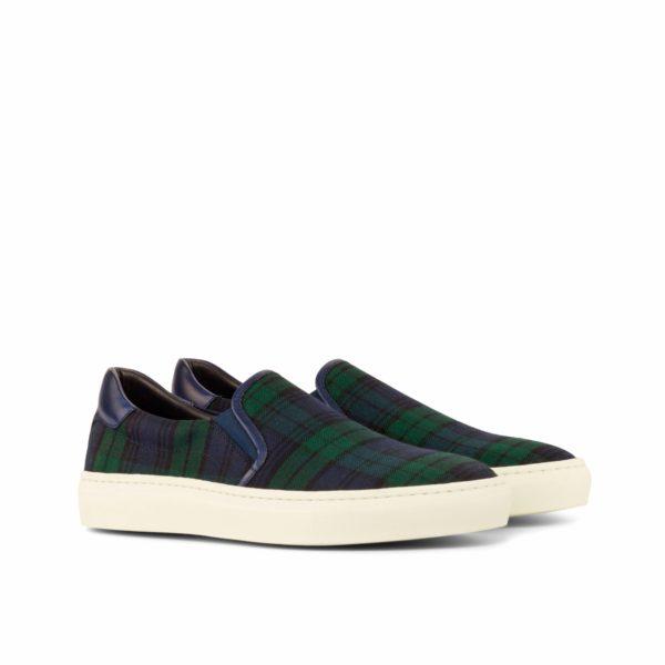 blackwatch tartan Slip-On Sneakers GREGOR by Civardi