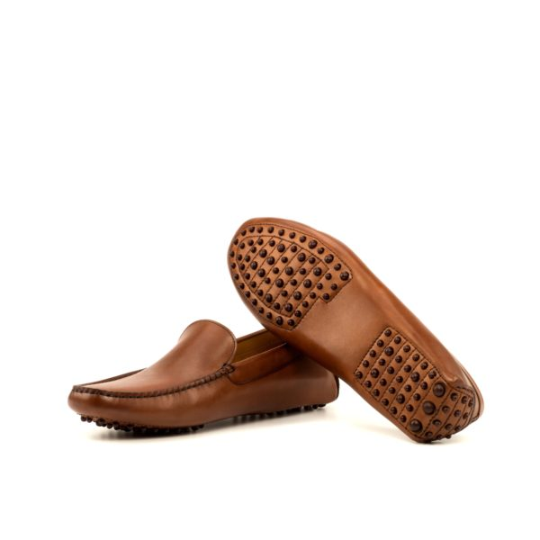 brown rubber dotted soles Driving Shoes HILL