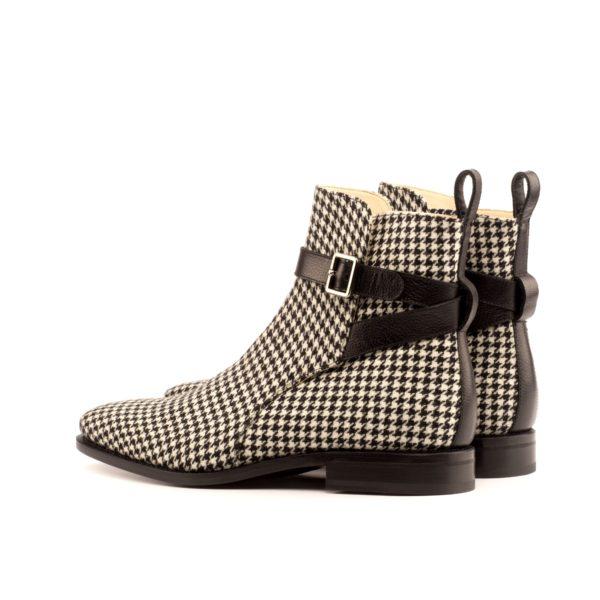 black full grain leather strap detail on Jodhpur Boots HOUND