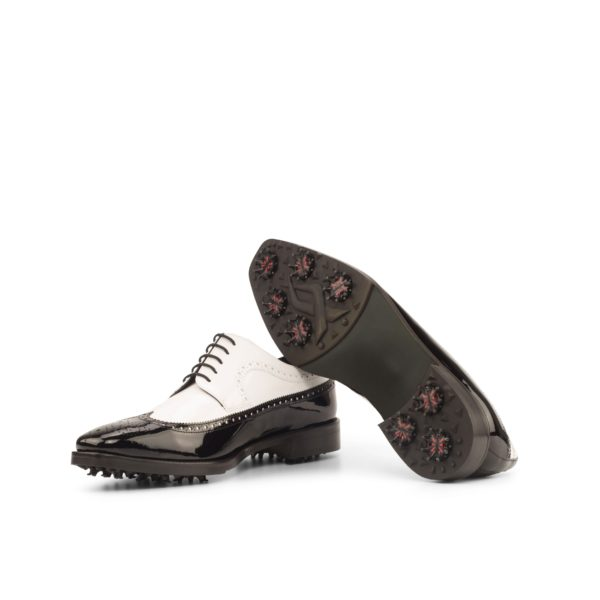 waterproof golfing soles on two color Longwing Golf Shoes NORMAN