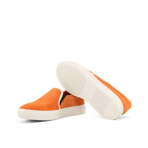 white rubber casual soles Slip-On Sneakers PYM
