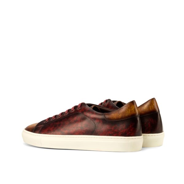 brown Patina heel detail Trainers ROMA
