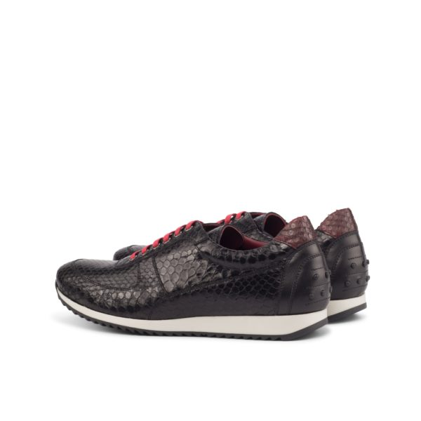rear contrast red python heel detail Trainers DARKNESS