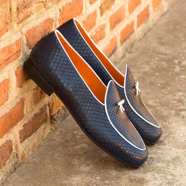 Python Belgian Slipper style Loafers Frederick